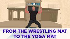 From the wrestling mat to the yoga mat: the DDPY story