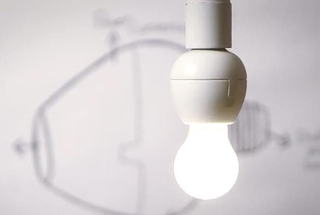 The Vocca lets almost any lightbulb listen for (and obey) your commands