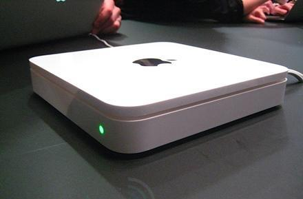 Apple Time Capsule hands-on