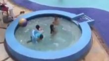 Video of Toddler Almost Drowning in a Floatie Is a Scary Wake-Up Call
