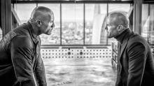 Dwayne Johnson y Jason Statham miden su poderío musculoso en la primera foto de Hobbs and Shaw