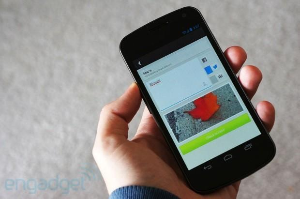 Foursquare for Android updated for more social check-ins, shares club-hopping with the world