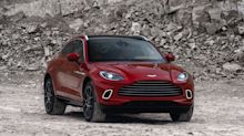 Aston Martin unveils its luxury SUV in global launch