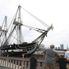 USS Constitution Undocked After 26-Month-Long Restoration Project