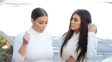First Peek At Pregnant Kim Kardashian's Baby Bump As She Dons Incredibly Tight White Dress
