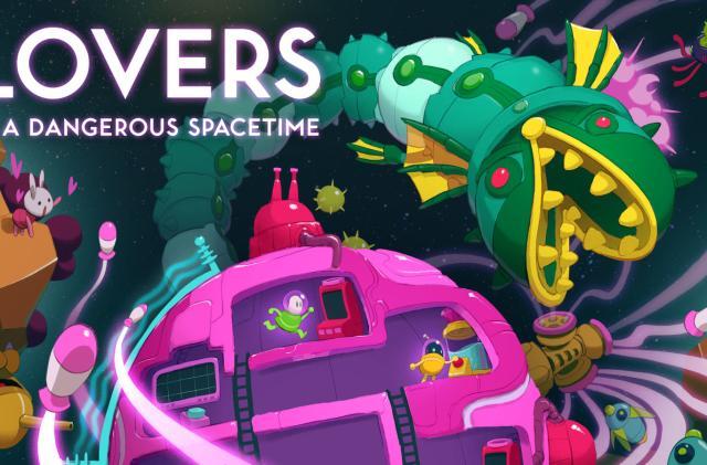 'Lovers in a Dangerous Spacetime' lands on Nintendo Switch
