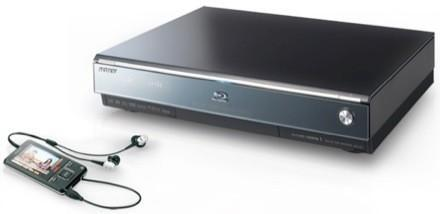 Video: Sony's BDZ-A70 Blu-ray recorder with 1-touch transfer to Walkmans, cellphones, and PSPs