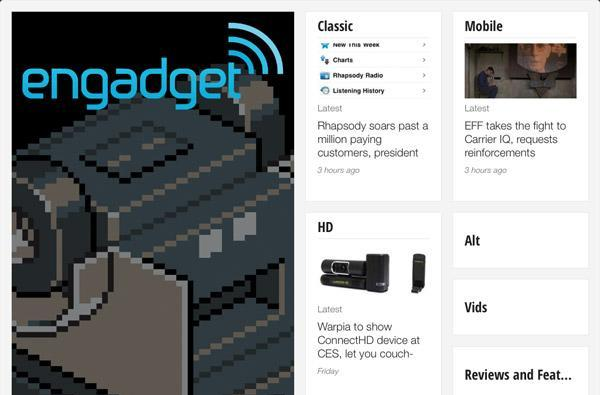 Engadget: now available in Google Currents!