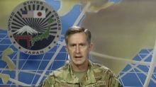 US commander affirms US support for Japan on China dispute