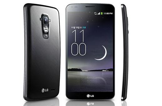 LG G Flex announced with vertically curved 6-inch 720p screen, 'self-repairing' back cover