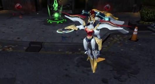 Infinite Crisis brings out Mecha Wonder Woman