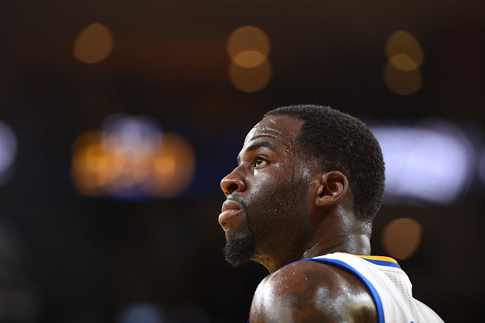 Draymond Green sees it all. (Getty Images)