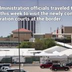 Inside Trump's immigration tent courts