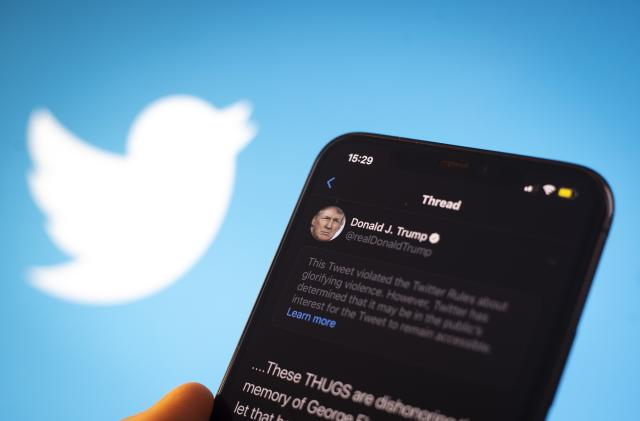 Trump will lose his protection against Twitter bans when he leaves office