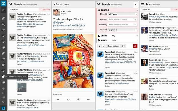 Tweetdeck for Mac update adds composition pane, auto-suggested hashtags