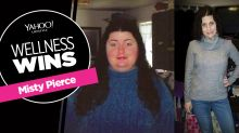 'I was just creeping slowly to my coffin': How one woman 'fought so hard' to lose 181 pounds