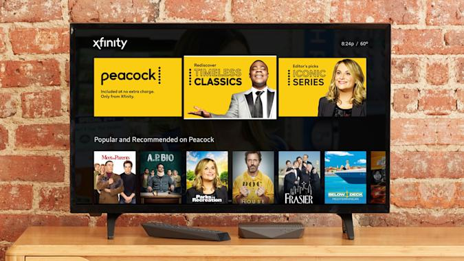 """NBC's Peacock streaming service is launching now in """"preview."""""""