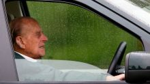 Prince Philip Spotted Driving Again Just Two Days After Car Crash