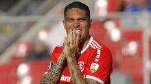 Guerrero no Gre-Nal: jejum com Inter não é o pior em clássicos no Brasil