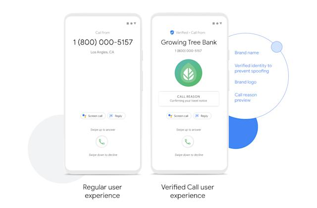 Google's phone app can tell you why businesses are calling