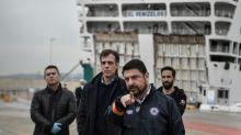 'Nick Hard' and the soft-spoken professor keeping Greeks virus-safe