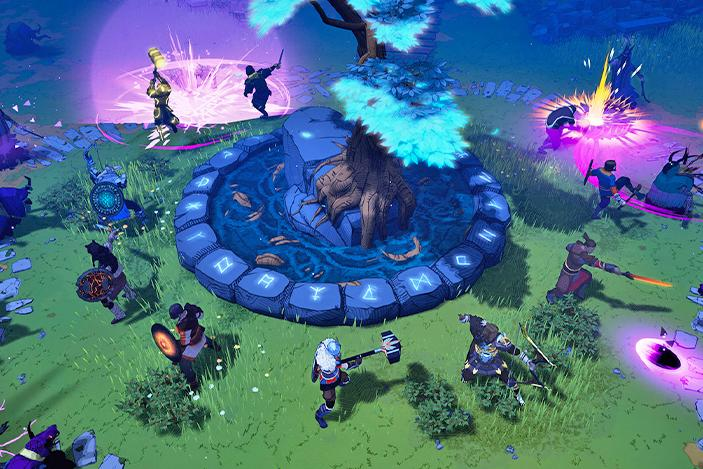 'Tribes of Midgard' blends survival, RPG and co-op mechanics for a new kind of Viking game