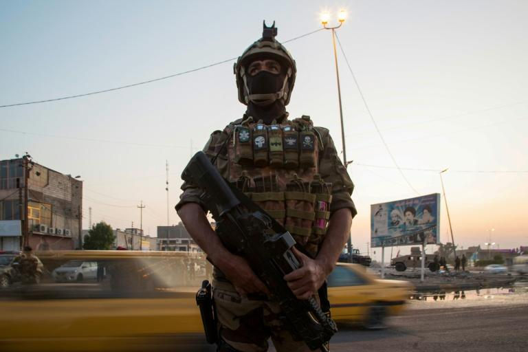 "Amnesty International said Baghdad ""must immediately rein in security forces"" after a deadly crackdown"