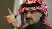 Billionaire Saudi Prince Alwaleed said he passed on investing in Uber because of the price