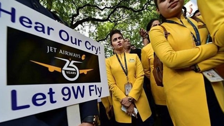 Bank unions extend help to Jet Airways employees