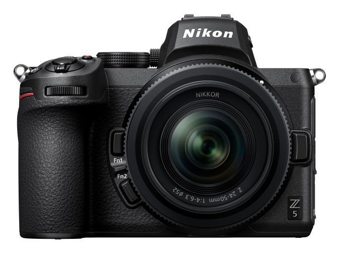 Nikon's full-frame Z5 has in-body stabilization for $1,399