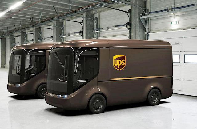 UPS has new electric trucks that look straight out of a Pixar movie