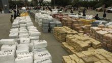 Decomisan en aeropuerto mexicano 220 kilos de fentanilo procedente de España