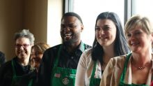 Starbucks commits to hiring 5,000 vets a year