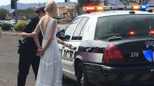 This bride was arrested for DUI on the way to her wedding
