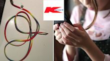 Kmart charger almost starts fire in little girl's bedroom