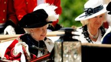 Queen joined by Charles, Camilla and William for show of spectacular royal tradition at Knights of the Garter parade in Windsor