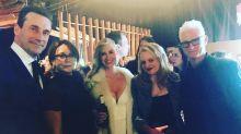 'Mad Men' cast reunites at Oscars parties