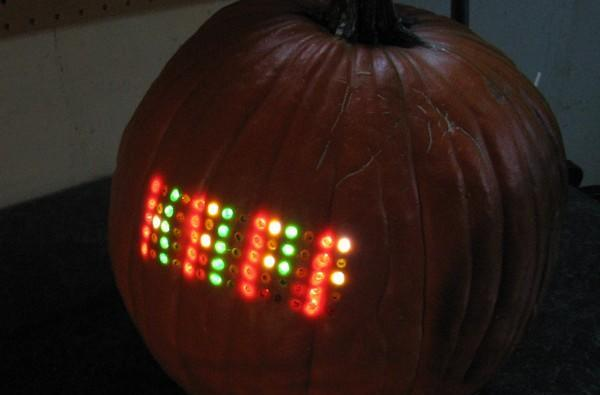 LED pumpkin would be perfect for your next Sleepy Hollow dance party (video)