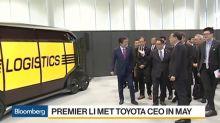 Toyota Said Ready to Share Hybrid Auto Tech With China