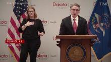 North Dakota Governor Breaks Down as He Calls Residents to Avoid 'Mask Shaming'