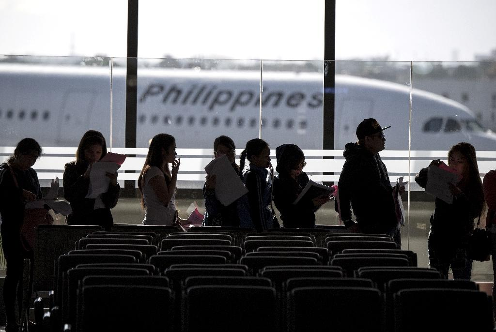 Around 262,000 Filipinos work in Kuwait, nearly 60 percent of them domestic workers