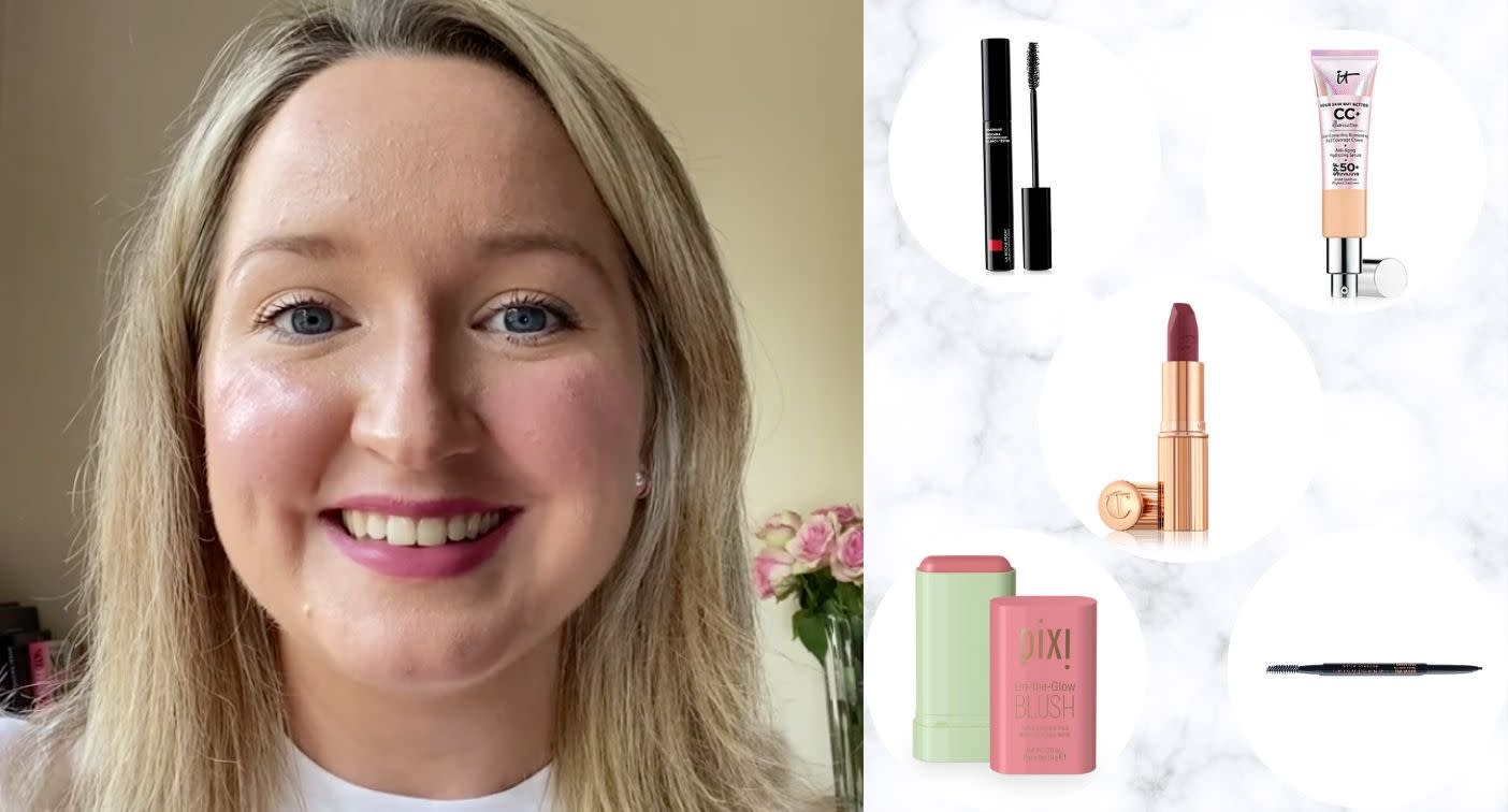 How to cheat a well rested look in 5 minutes with just 5 make-up products