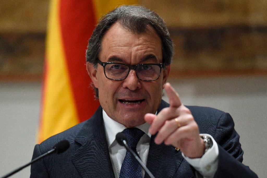 Artur Mas was president of the semi-autonomous region from 2010 to 2016 (AFP Photo/Josep Lago)