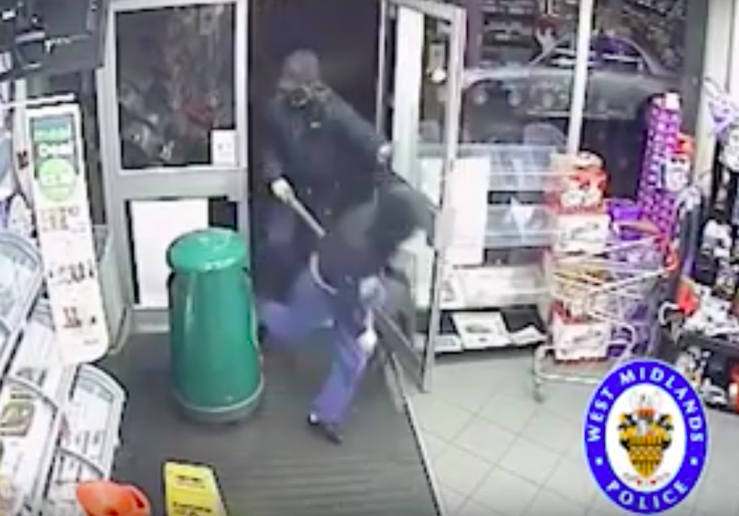 Armed robber jailed after members of the public punch him in the face to  stop him escaping