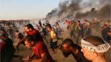Seven killed as Israeli troops fire on Gaza protest