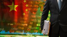 Inverse China ETFs at Support Amid Slowdown Fears