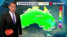 Damaging winds, cold temperatures across Australia