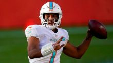Tagovailoa Inactive, Fitzpatrick To Start For Dolphins