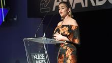 NHS at 70: Emilia Clarke thanks nurses for looking after her father in moving speech