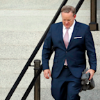 Sean Spicer allegedly swiped a mini-fridge from an office of junior staffers in the dark